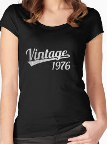 Vintage 1976 Women's Fitted Scoop T-Shirt