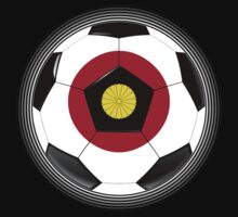 Japan - Japanese Flag - Football or Soccer by graphix