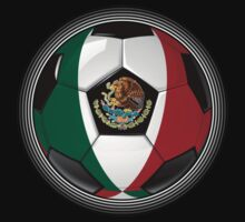 Mexico - Mexican Flag - Football or Soccer Kids Clothes