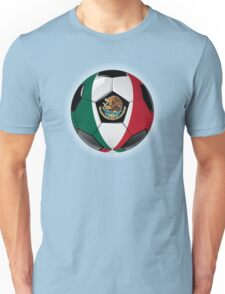 Mexico - Mexican Flag - Football or Soccer Unisex T-Shirt