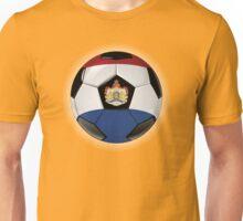 Netherlands - Dutch Flag - Football or Soccer Unisex T-Shirt