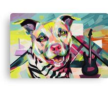 Rockstar Pup Canvas Print