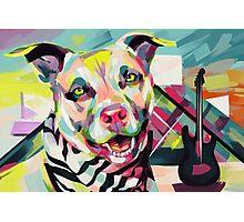 Rockstar Pup Photographic Print