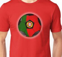 Portugal - Portuguese Flag - Football or Soccer Unisex T-Shirt