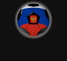 Russia - Russian Flag - Football or Soccer Unisex T-Shirt