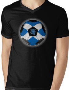 Scotland - Scottish Flag - Football or Soccer Mens V-Neck T-Shirt