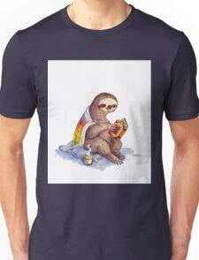 Cozy Sloth Unisex T-Shirt