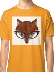 Fox. Vector illustration.  Classic T-Shirt