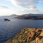 sounion gulf, greece by Kara Temple