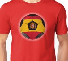 Spain - Spanish Flag - Football or Soccer Unisex T-Shirt