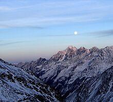 austrian glacier by Kara Temple