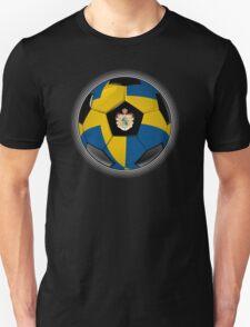 Sweden - Swedish Flag - Football or Soccer Unisex T-Shirt