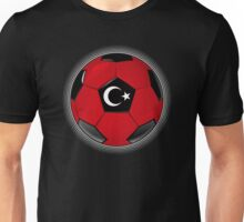 Turkey - Turkish Flag - Football or Soccer Unisex T-Shirt