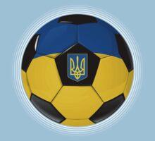 Ukraine - Ukrainian Flag - Football or Soccer Kids Clothes