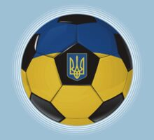 Ukraine - Ukrainian Flag - Football or Soccer One Piece - Short Sleeve