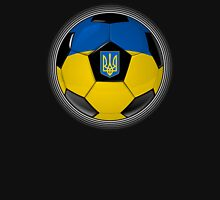 Ukraine - Ukrainian Flag - Football or Soccer Unisex T-Shirt