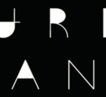 Art Print - Urban -Photo and Quote- Typography Sticker