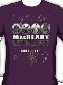 MacReady School of Survival T-Shirt