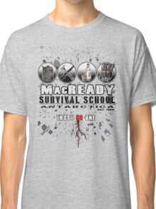 MacReady School of Survival Classic T-Shirt