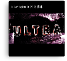 Depeche Mode : Ultra  - Color Canvas Print