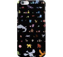 all 2nd gen pokemon minimalism iPhone Case/Skin