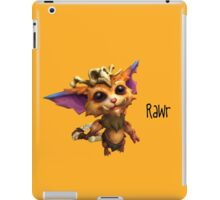 Gnar: The Missing Link (League of Legends) iPad Case/Skin