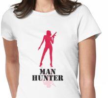 Man Hunter Womens Fitted T-Shirt