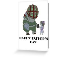 Happy Father's Day Daddy Greeting Card