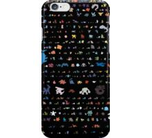 all pokemons minimalism design iPhone Case/Skin