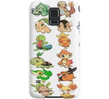 all starters pokemons Samsung Galaxy Case/Skin