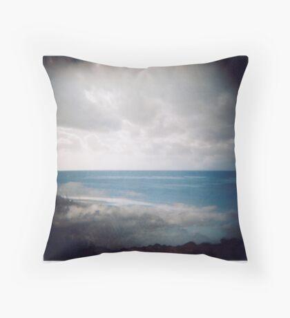 Sea Cloud Throw Pillow