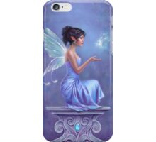 Opalite Fairy with Glowing Butterfly iPhone Case/Skin