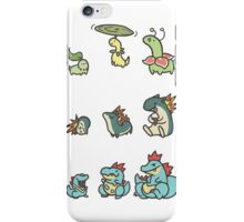 2nd gen pokemon cute starters iPhone Case/Skin