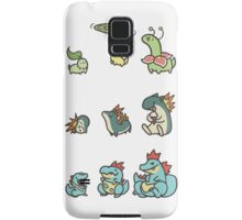 2nd gen pokemon cute starters Samsung Galaxy Case/Skin