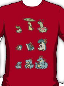 2nd gen pokemon cute starters T-Shirt