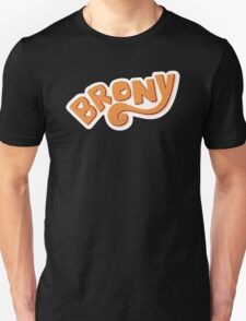 Brony Logo - Orange T-Shirt
