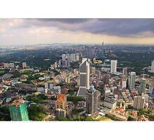 Cityscape IV - Kuala Lumpur, Malaysia. Photographic Print