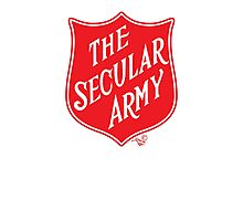 The Secular Army by Tai's Tees Photographic Print