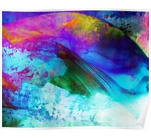 Abstract colorful artwork Poster