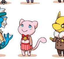 animal crossing crossover pokemon Sticker