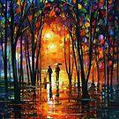 Misty Night — Buy Now Link - www.etsy.com/listing/172707831 by Leonid  Afremov