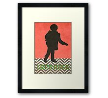 Twin Peaks / Small Man / The Man From Another Place Framed Print