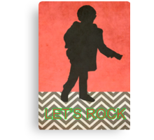 Twin Peaks / Small Man / The Man From Another Place Canvas Print