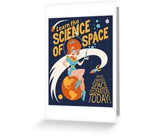United Space Federation Greeting Card