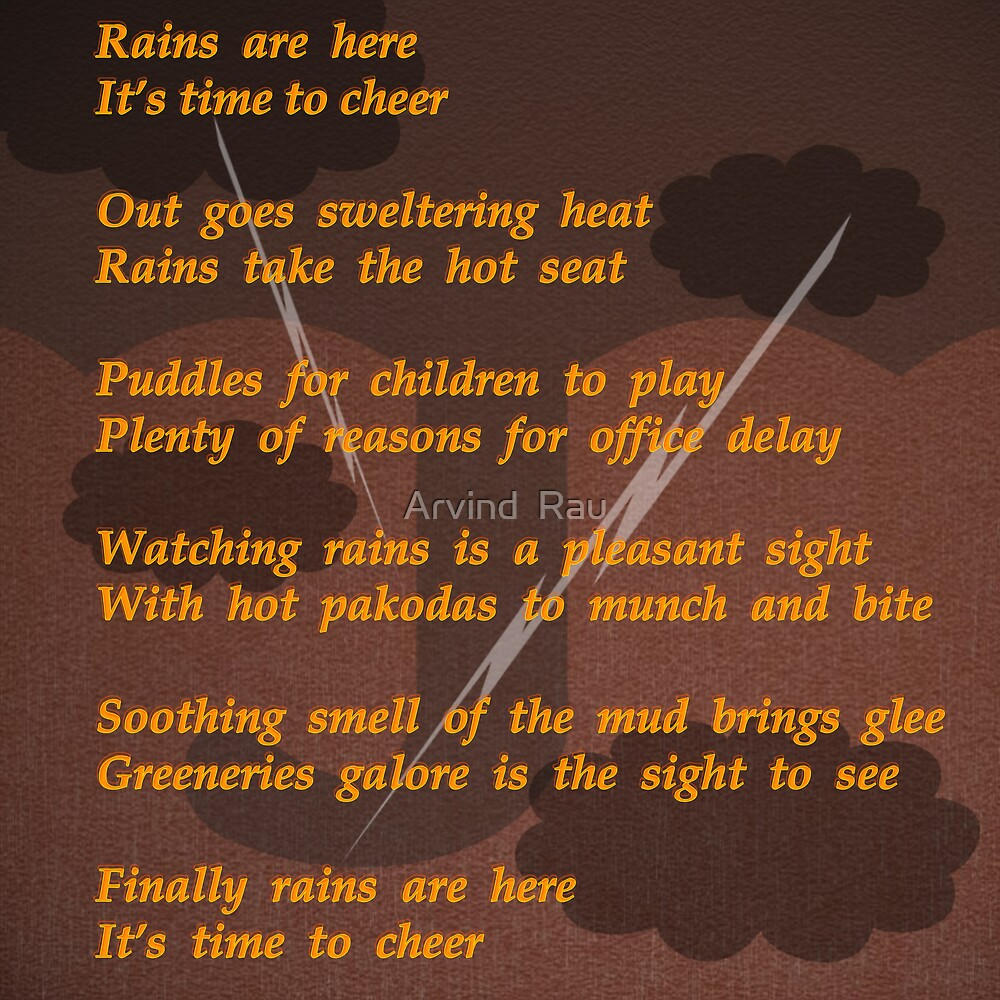 RAINS by Arvind  Rau