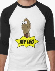 My Leg! Men's Baseball ¾ T-Shirt