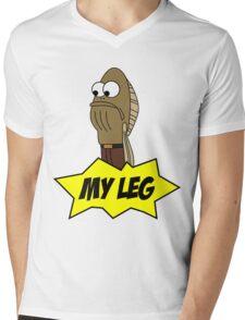 My Leg! Mens V-Neck T-Shirt