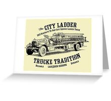 '13 Seagrave City Ladder Greeting Card