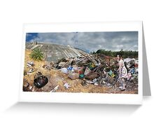 Her landfill Greeting Card