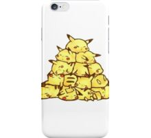 many pikachus iPhone Case/Skin